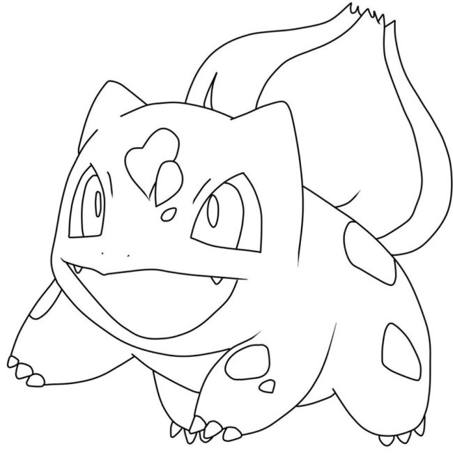 650x650 Bulbasaur Pokemon Coloring Pages Nice Coloring Pages For Kids
