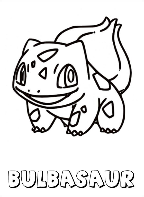 560x768 Pokemon Coloring Page Bulbasaur Coloring Pages Art Coloring