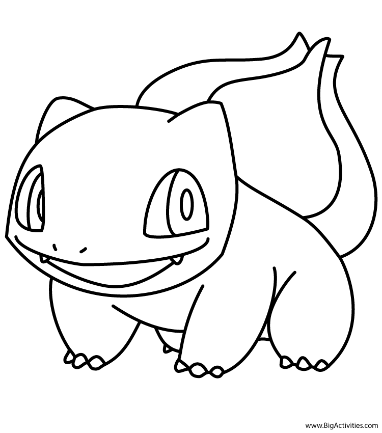 750x850 Bulbasaur Coloring Page Bulbasaur Coloring Page Pokemon Free