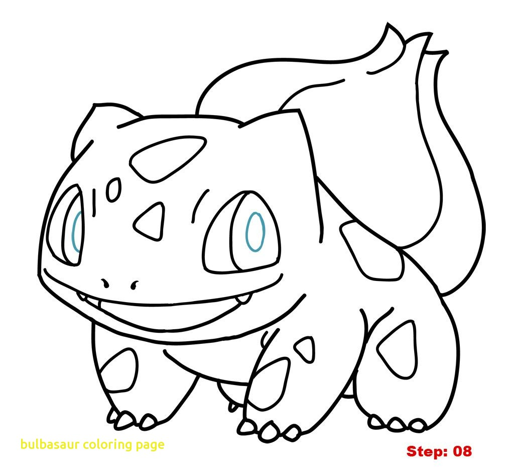 1024x941 A Ordable Bulbasaur Coloring Page With Pages P