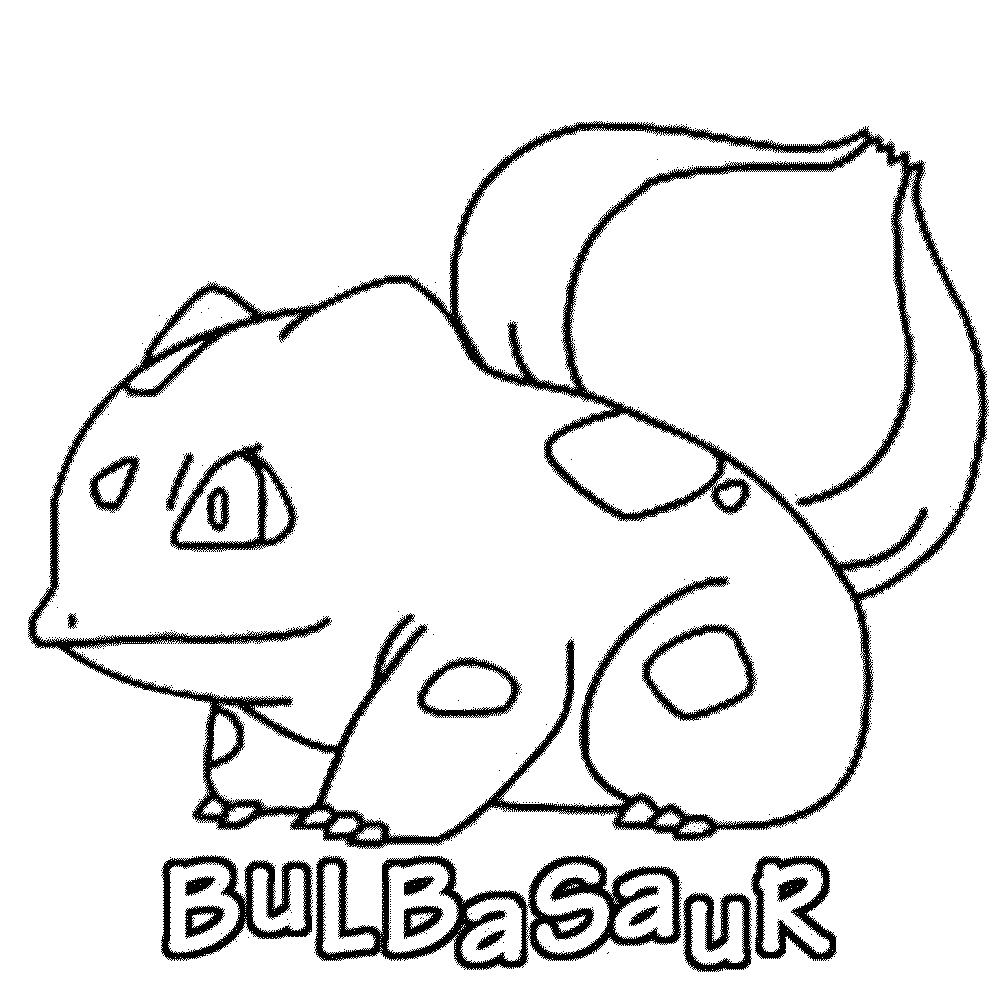 1000x1002 Pokemon Coloring Pages Printable Bulbasaur Page