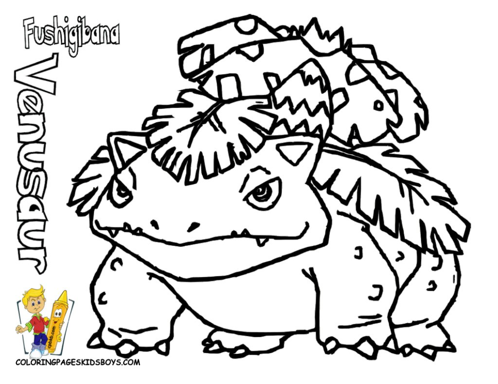1024x791 Pokemon Coloring Pages Red Bulbasaur Fearow Free Bebo Pandco