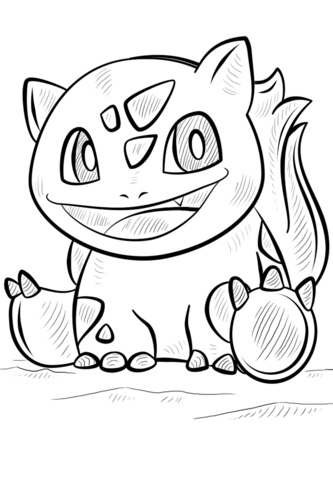 333x480 Bulbasaur Coloring Page Printable Coloring Pages