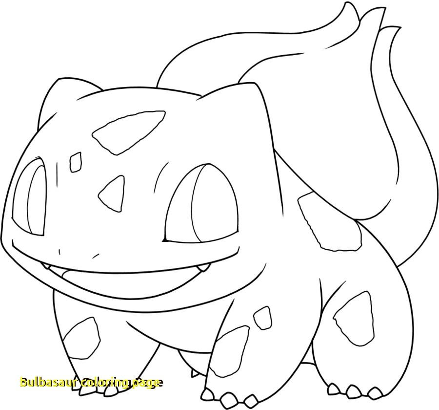 900x839 Bulbasaur Coloring Page With Pokemon Bulbasaur Coloring Pages