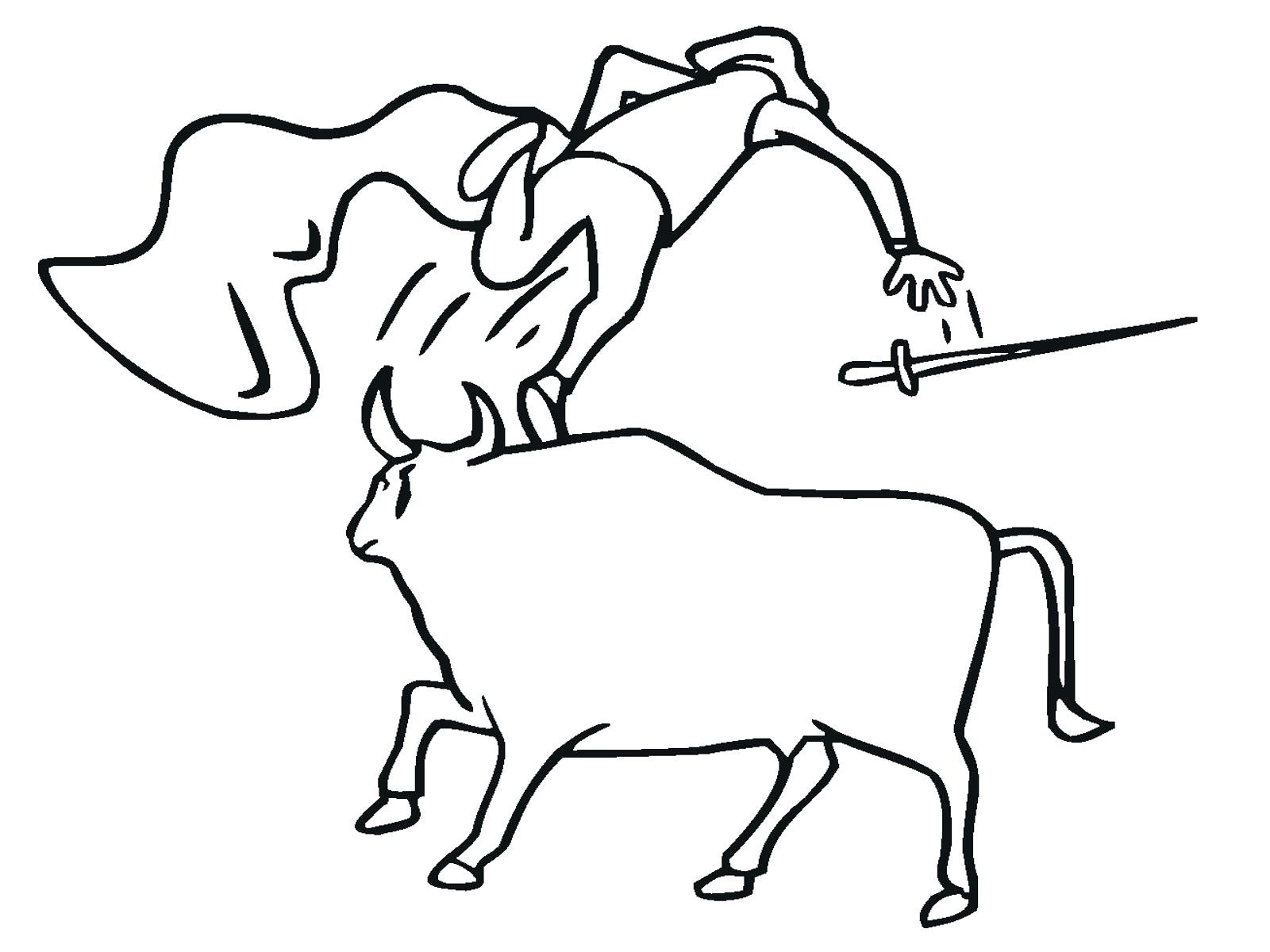 1600x1200 Best Of Bucking Bull Coloring Pages