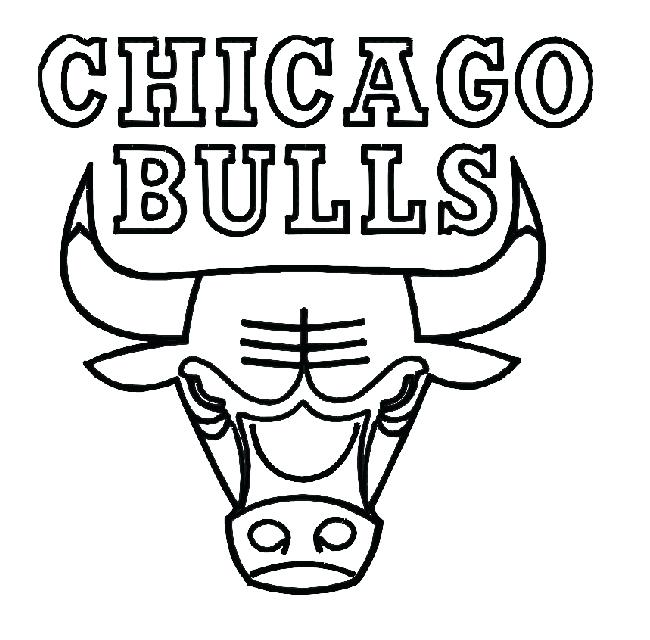650x640 Free Printable Basketball Coloring Pages Bulls Coloring Pictures