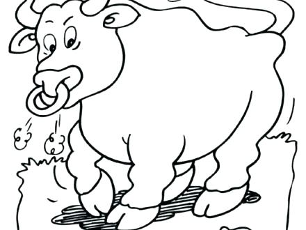 440x330 Bull Coloring Page Basketball Coloring Pages Bulls Logo Pbr Bull