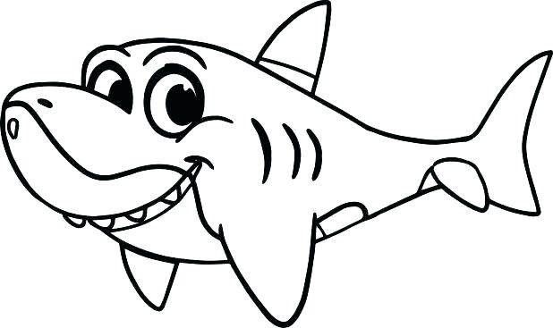 618x367 Bull Shark Coloring Pictures Coloring Page Bull Shark Coloring