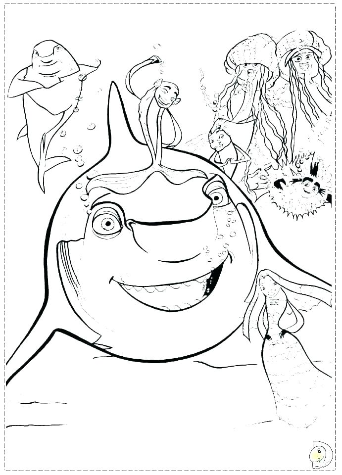 691x960 Coloring Pages Sharks Coloring Pages Shark Bull Shark Coloring