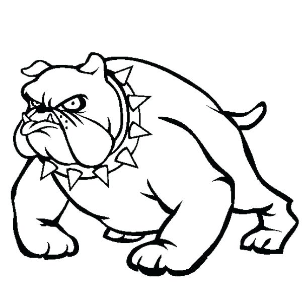 600x612 American Pitbull Coloring Pages Vicious Coloring Page Coloring