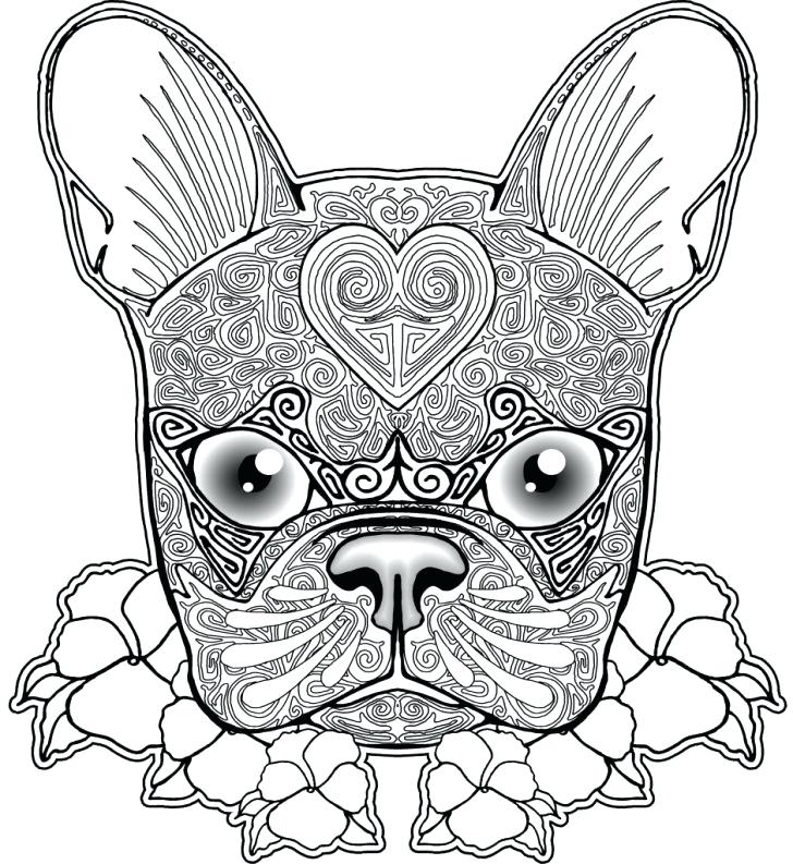 728x793 Bulldog Coloring Pages Bulldog Coloring Pages With Wallpapers
