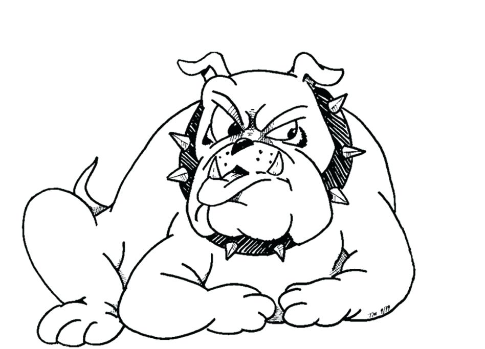948x683 Bulldog Coloring Pages With Wallpapers Desktop Background Bulldog