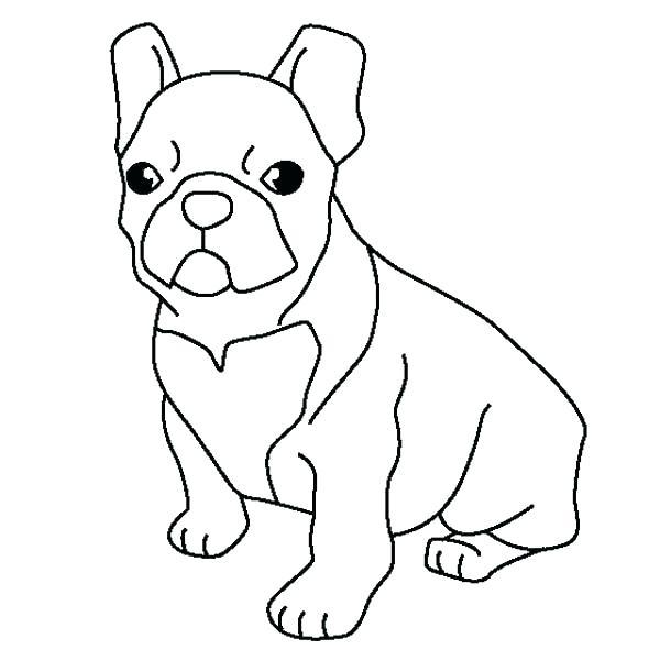 600x600 Bulldog Coloring Page French Bulldog Coloring Pages French Bulldog