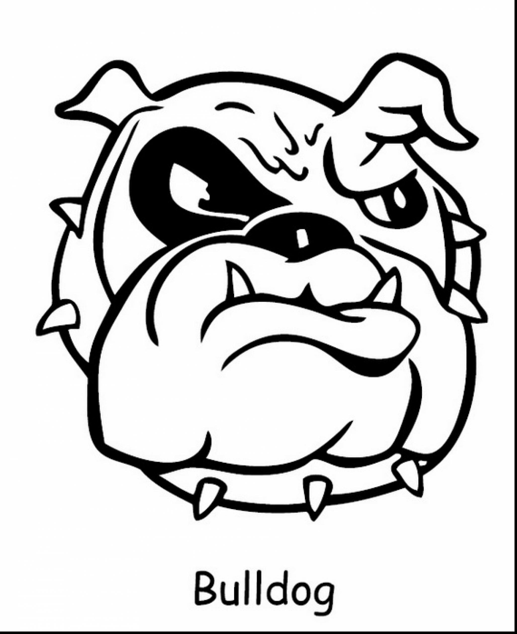 2079x2547 Marvelous Bulldog Coloring Pages Printable With And Uga Lively