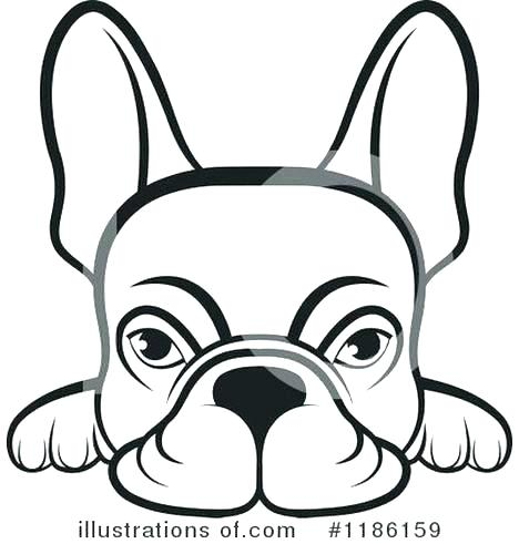 468x491 Bulldog Coloring Pages