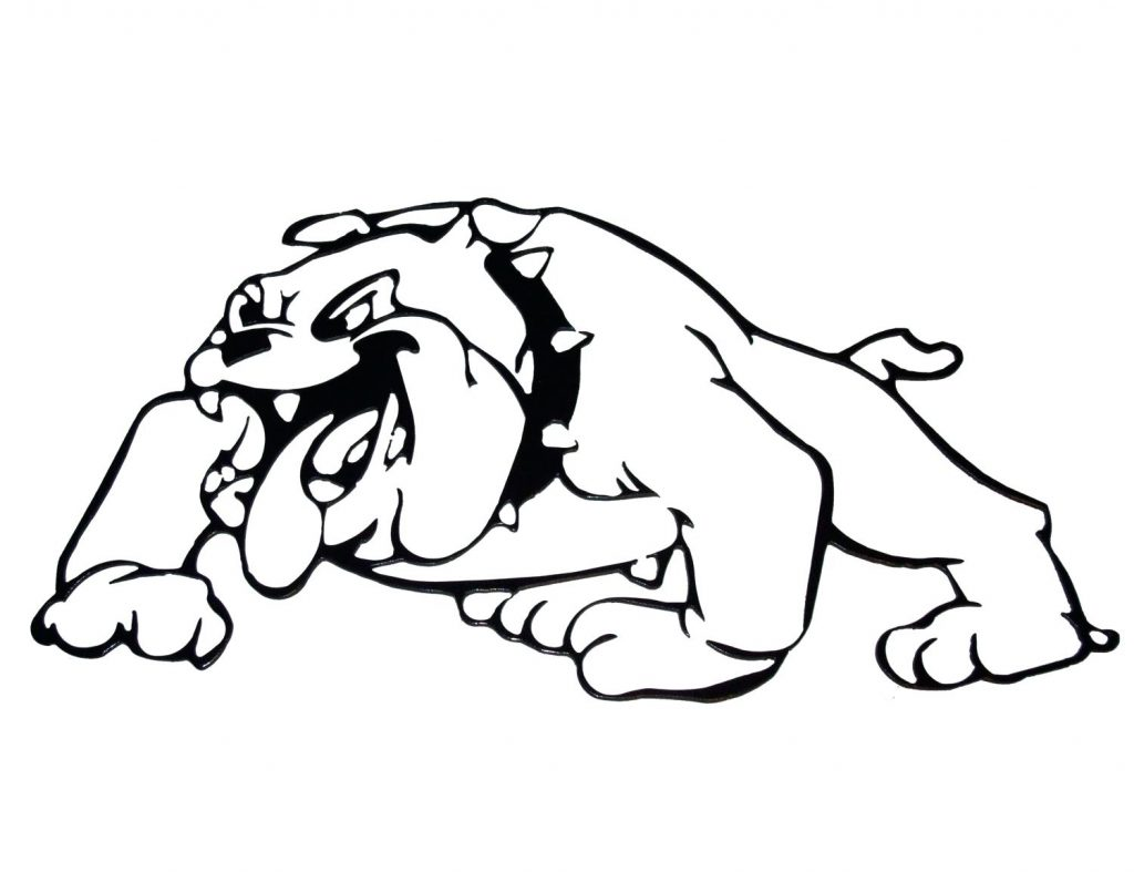 1024x787 Coloring Pages Bulldog Coloring Pages Printable Free Puppy
