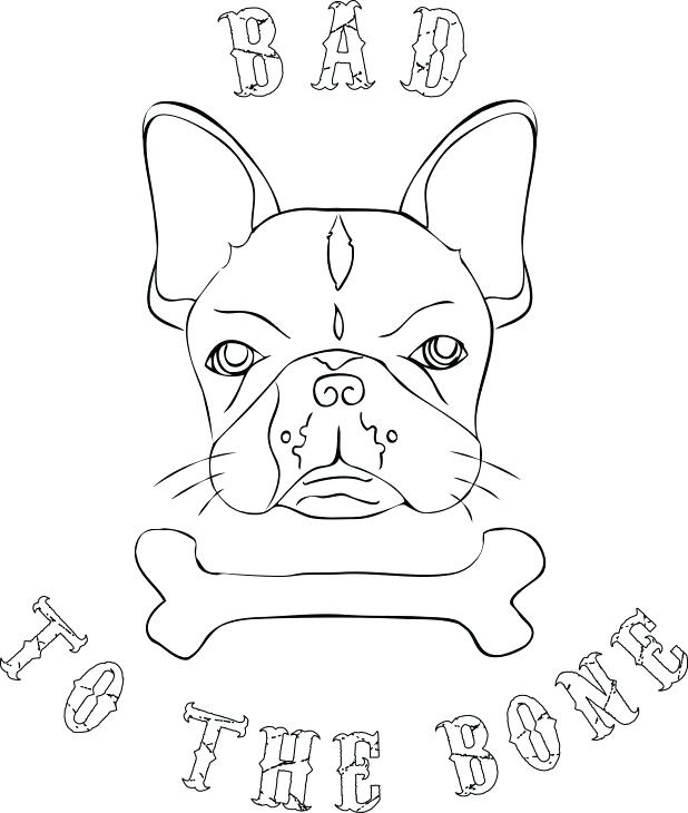 618x730 Bulldog Coloring Page Coloring Pages Craft Bulldog Coloring Page