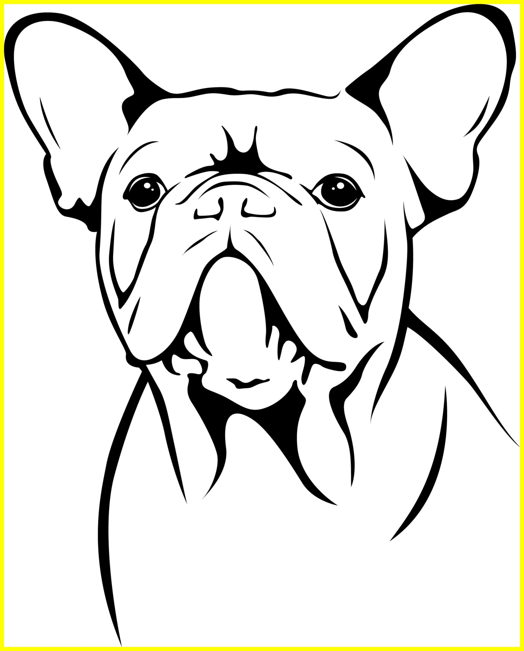 1761x2189 Best Bulldog Drawing At Getdrawings For Personal Use Image Puppy