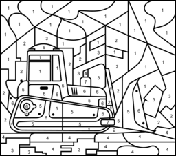 Bulldozer Coloring Pages At Getdrawings Com Free For Personal Use