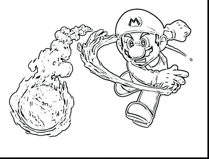 728x556 Mario Coloring Pages Bullet Bill Impressive Super Bros Characters