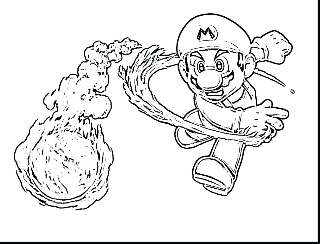 1332x1018 Beautiful Boys Brothers Bullet Bill Coloring Page With Mario Pages