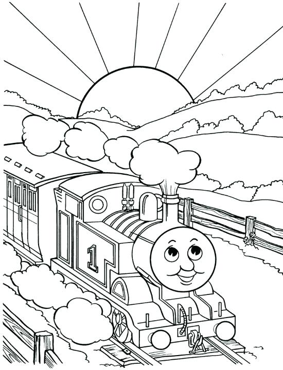 550x720 Coloring Pages Trains The Train Coloring Page Coloring Pages