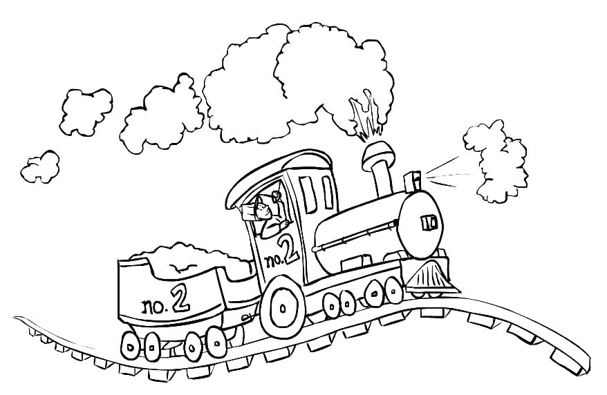 878x572 Train Picture To Color Related Post Thomas The Tank Engine
