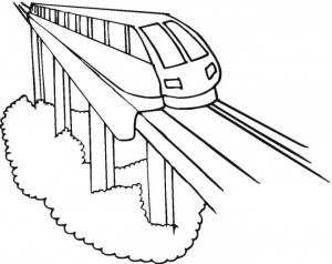 300x238 Coloring Pages Bullet Train For Preschoolers