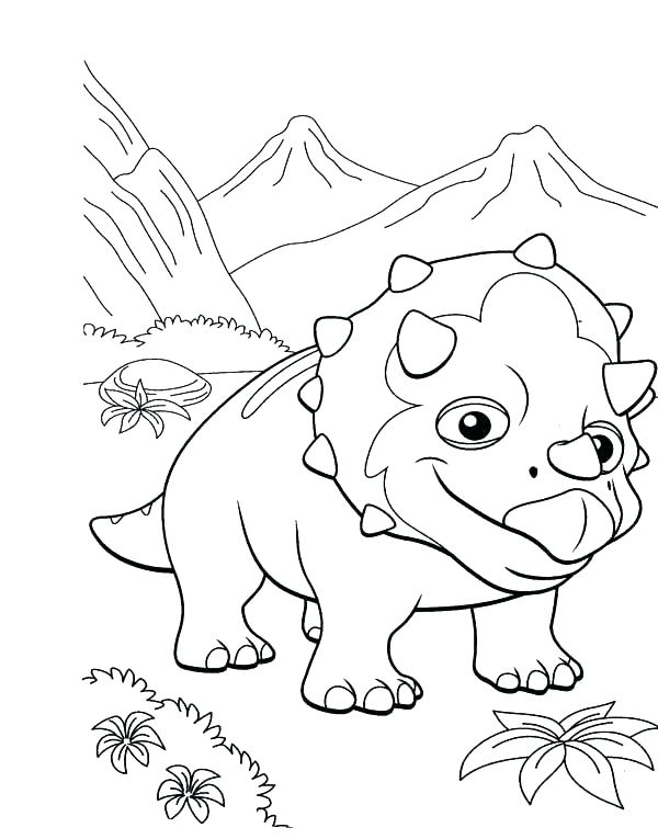 600x765 Coloring Pages Train
