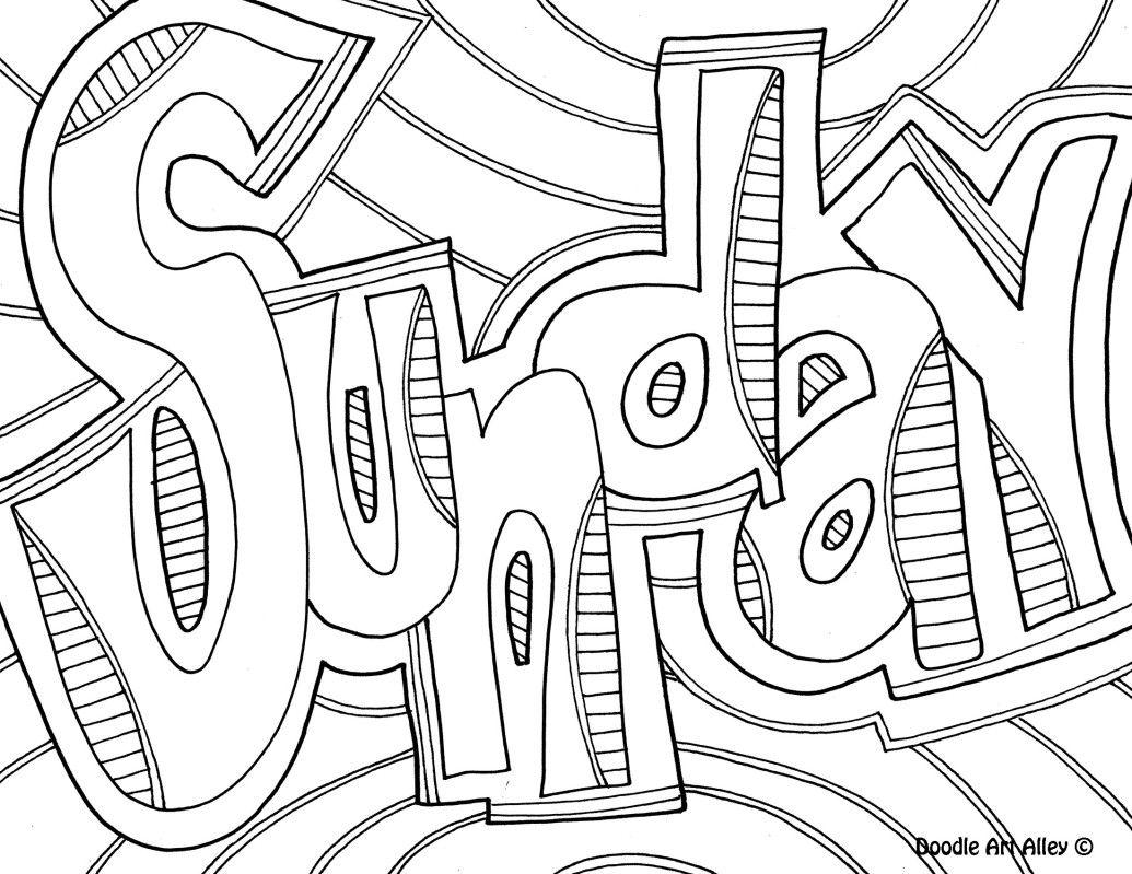 1035x799 Sunday Daycare Laughs Bullet, Doodles