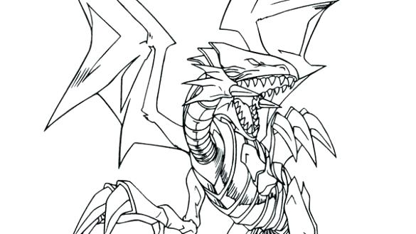 585x329 Yugioh Coloring Pages