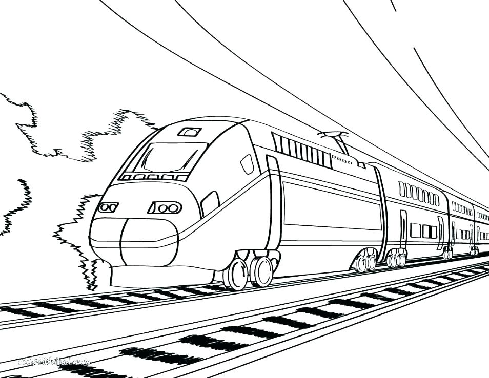 954x738 Bullet Train Coloring Pages Printable Coloring Pages Trains Train