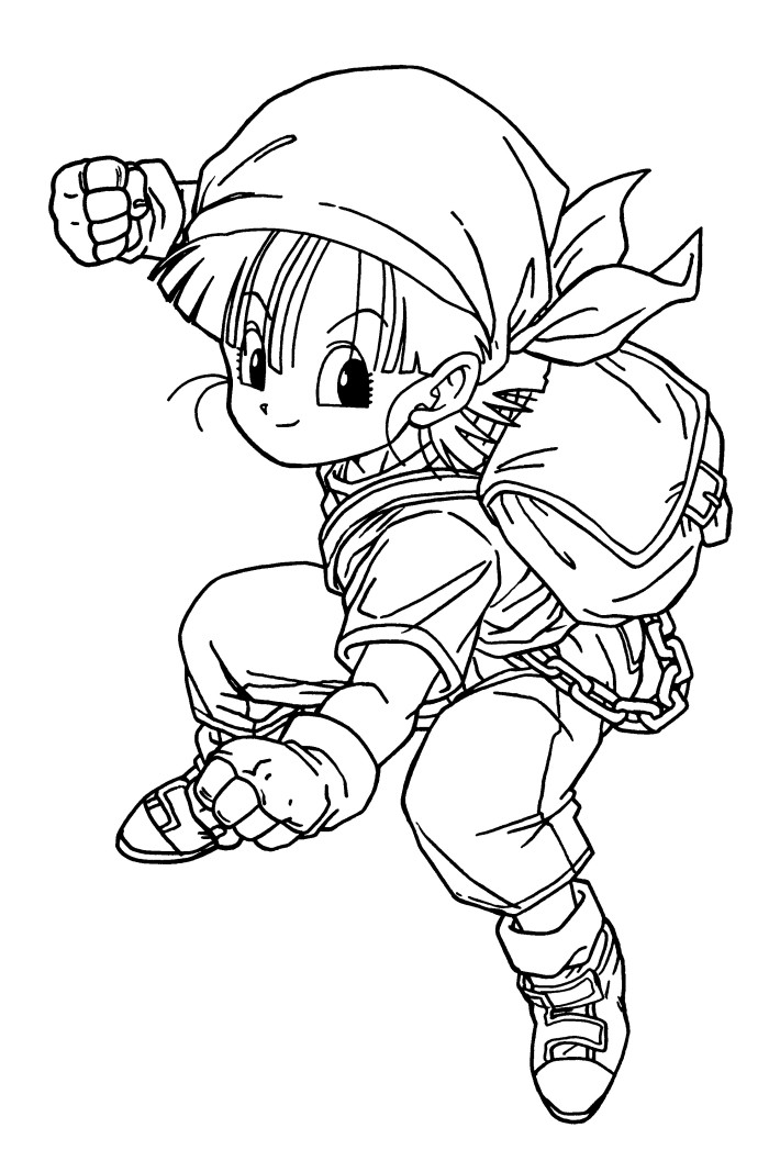 Printable coloring pages of dragonball gt ~ The best free Dragon ball coloring page images. Download ...