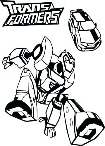 Bumblebee Transformer Coloring Page At Getdrawingscom