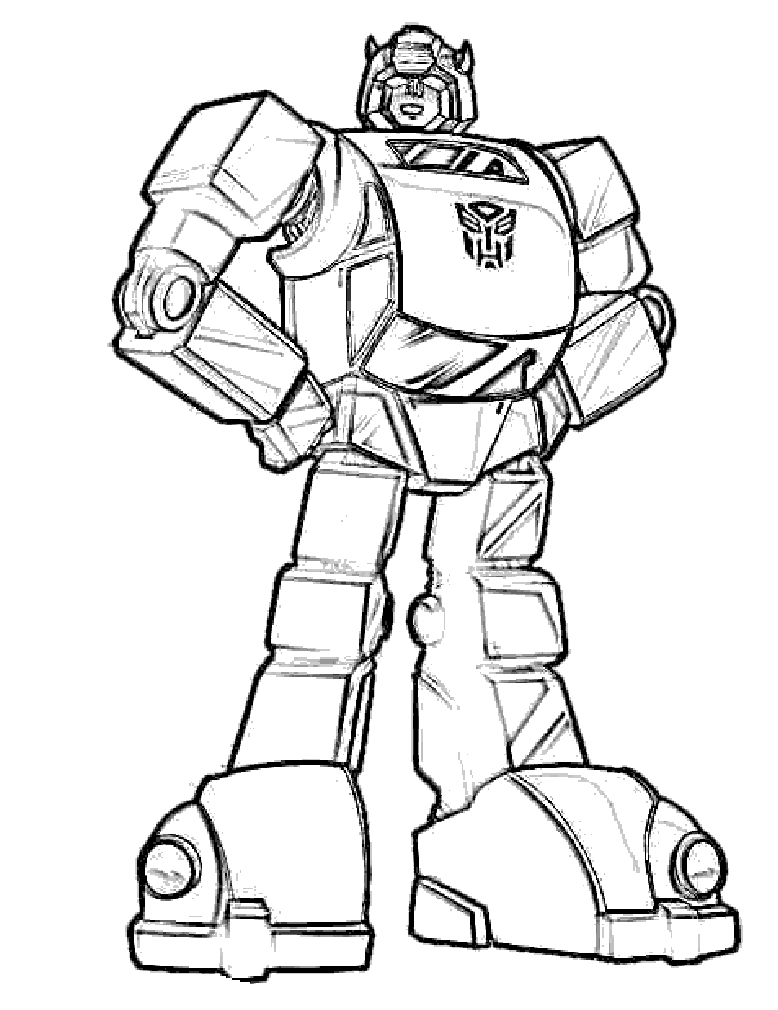 778x1010 Bumblebee Transformers Coloring Pages Inspire Kids Printable