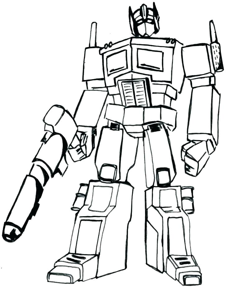 728x926 Bumblebee Transformers Coloring Pages Online Transformer Coloring