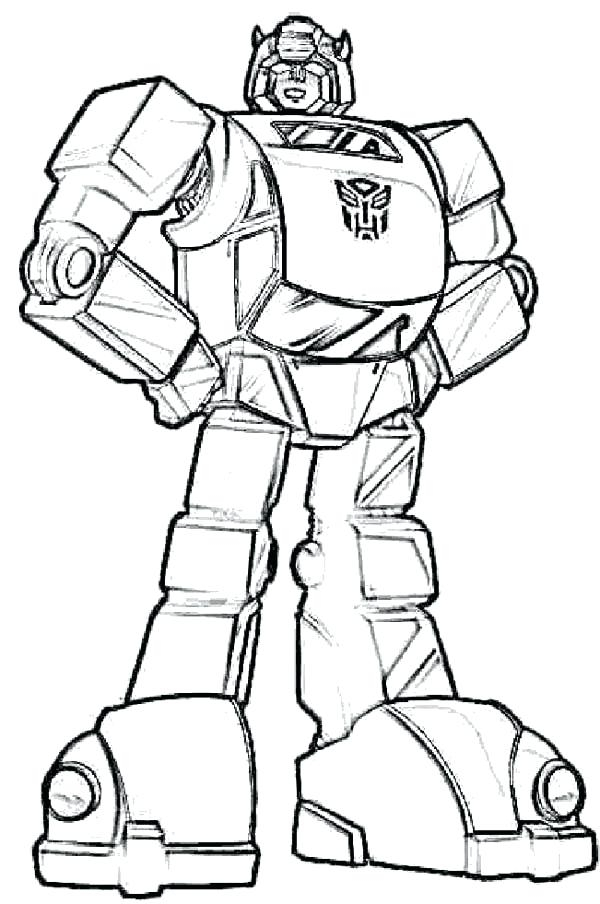 600x904 Free Transformer Coloring Pages Bumblebee Transformers Coloring