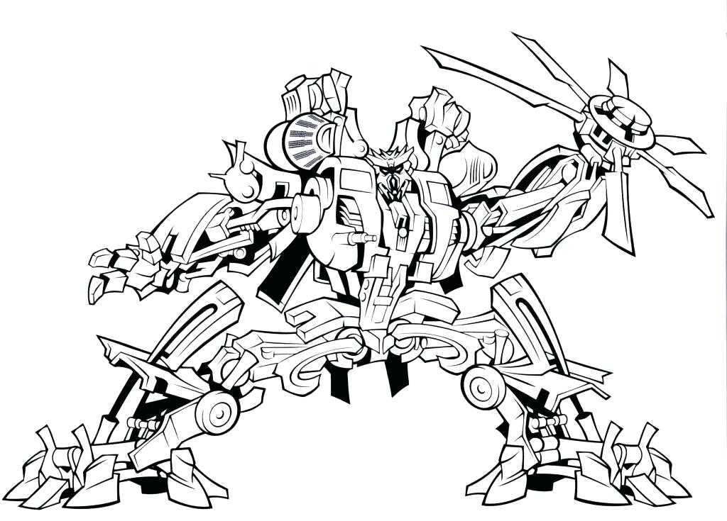1024x735 Transformers Bumblebee Coloring Page Transformers Coloring Pages