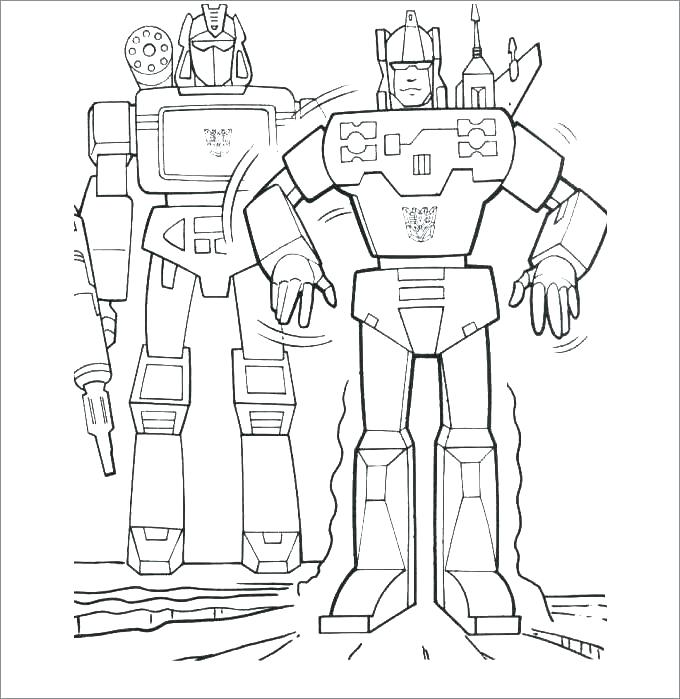 680x699 Transformers Coloring Pages Printable Transformers Coloring Pages