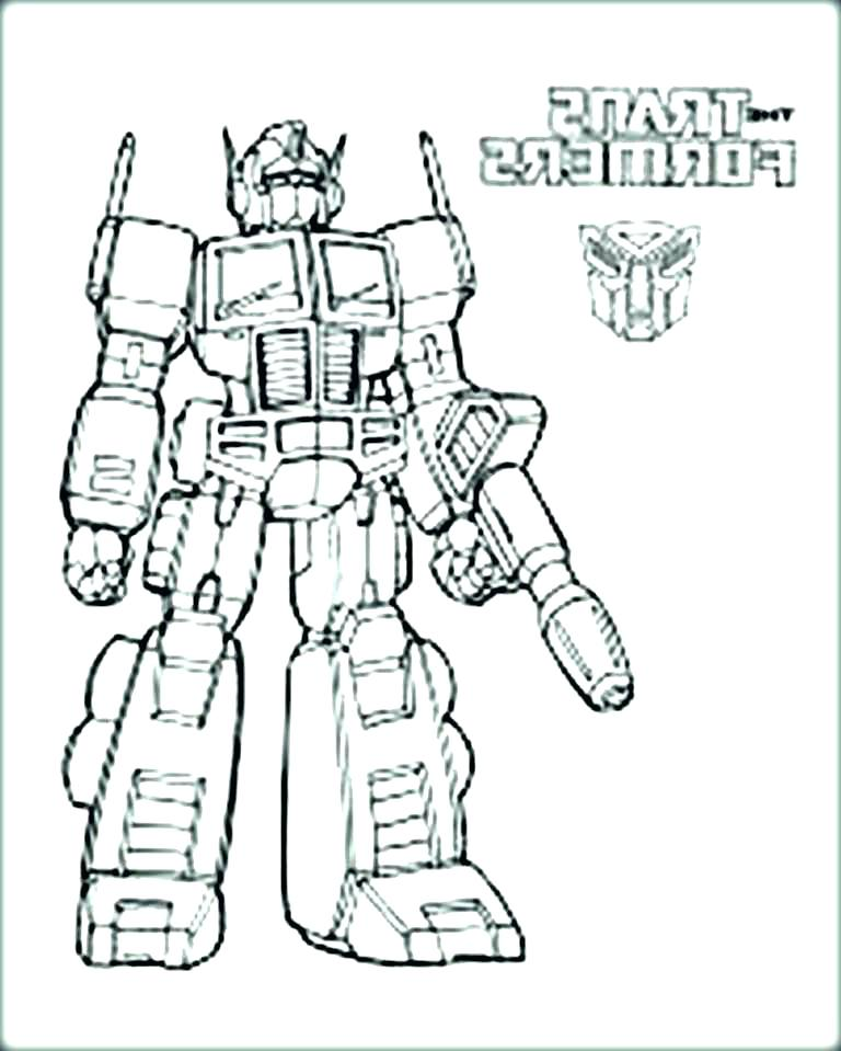 768x959 Bumblebee Transformer Coloring Page Bumblebee Transformer Coloring
