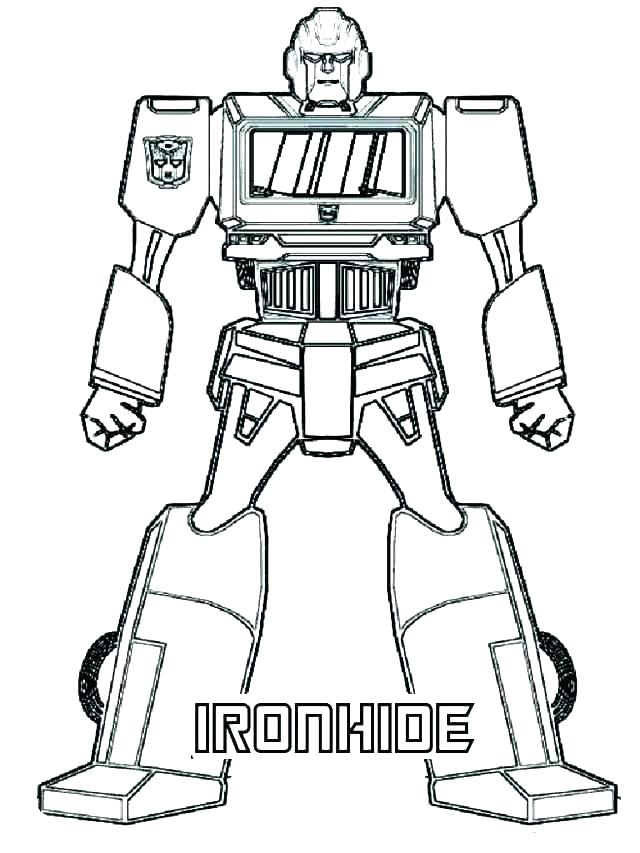 640x853 Bumblebee Transformer Coloring Page Transformers Coloring Pages