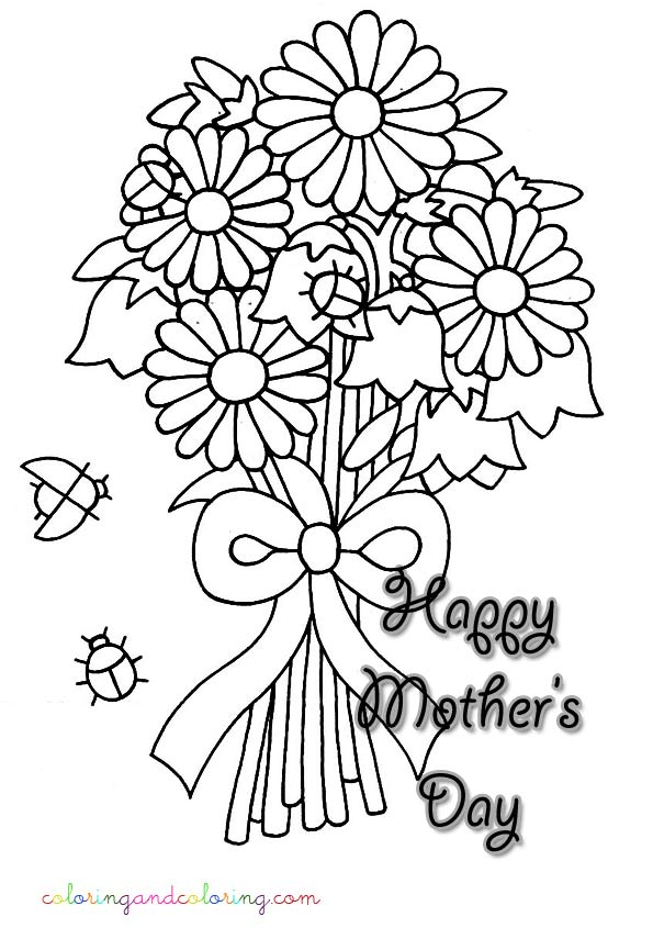 Bunch Of Roses Coloring Pages At Getdrawings Com Free For Personal