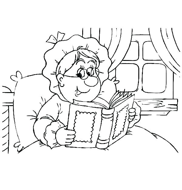 600x627 Bed Coloring Pages Bed Coloring Page Preschool Bedtime Coloring