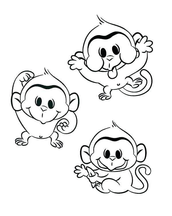 600x750 Bed Coloring Pages Bed Coloring Pages Coloring Pages Of Monkeys