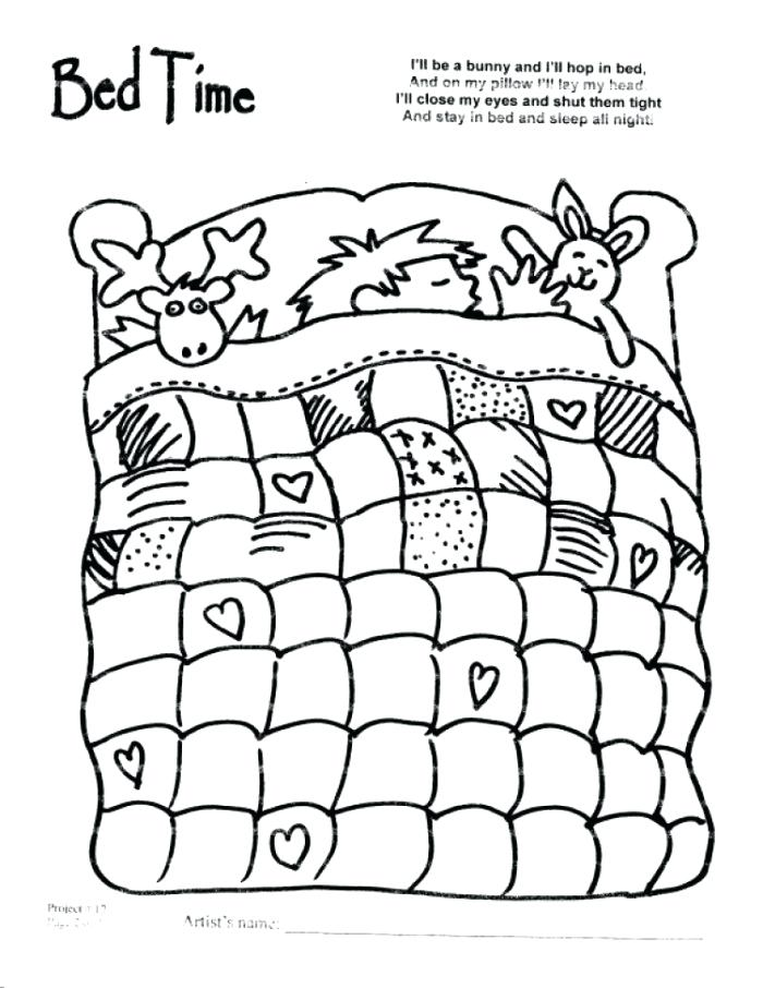 700x906 Hospital Bed Coloring Pages Printable Coloring Bed Coloring