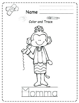 308x400 Bed Coloring Pages
