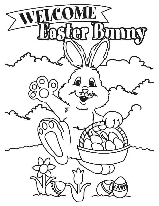 653x845 Free Coloring Pages Easter Bunny Happy Bunny Free Online Easter