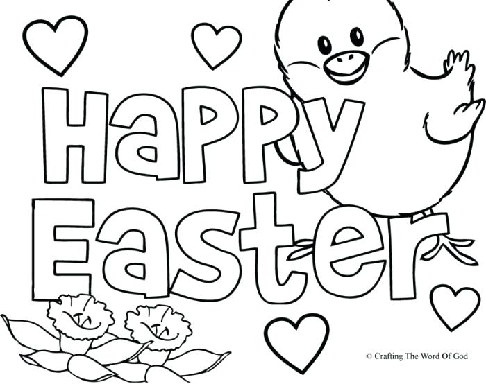 700x554 Printable Easter Coloring Pages Free Happy Coloring Pages