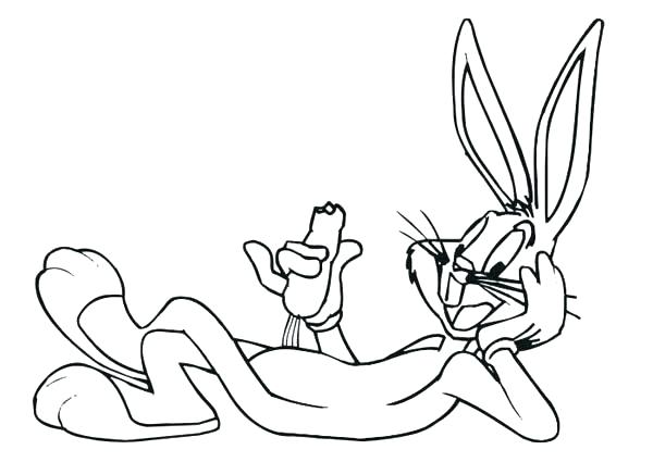600x425 Easter Bunny Coloring Pages Bunny Coloring Pages Bugs Bunny