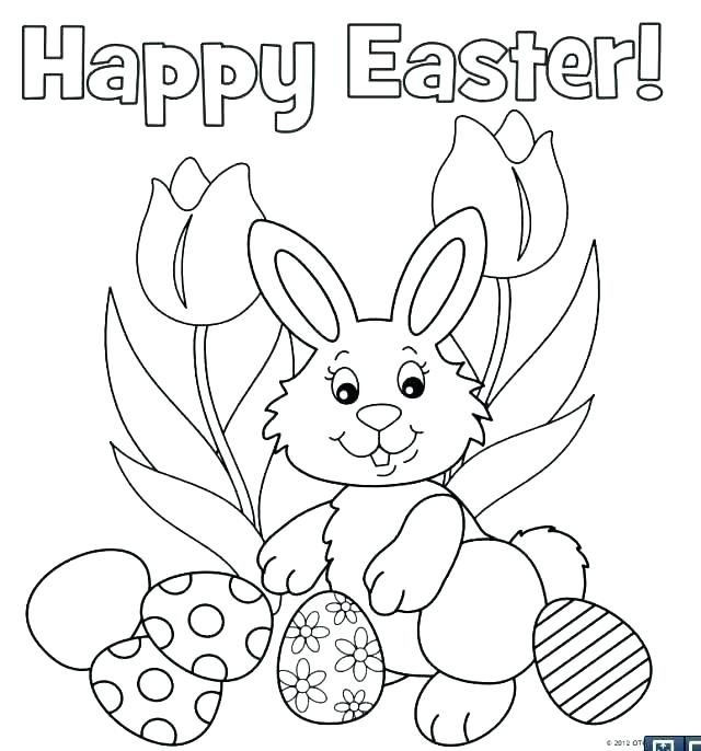 640x686 Printable Bunny Coloring Pages Printable Bunny Coloring Pages Cute